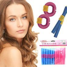 Профессиональная удобная палочка губка-бигуди для волос 12 шт