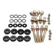Low Profile Engine Valve Cover Washer Bolts Black Colors For Honda Acura B16 B17 B18