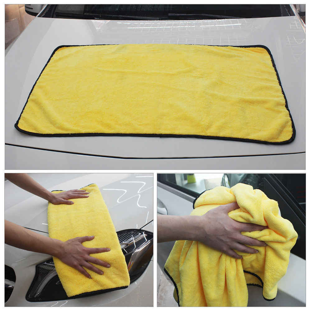 4 Size Super Absorbent Car Wash Cloth Microfiber Towel Cleaning Drying Cloths Rag Detailing Car Towel Car Care Polishing