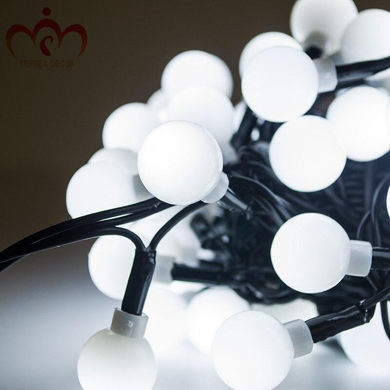 Luces de hadas 32.8ft 100 LED Luces de cuerda Control remoto a prueba de agua