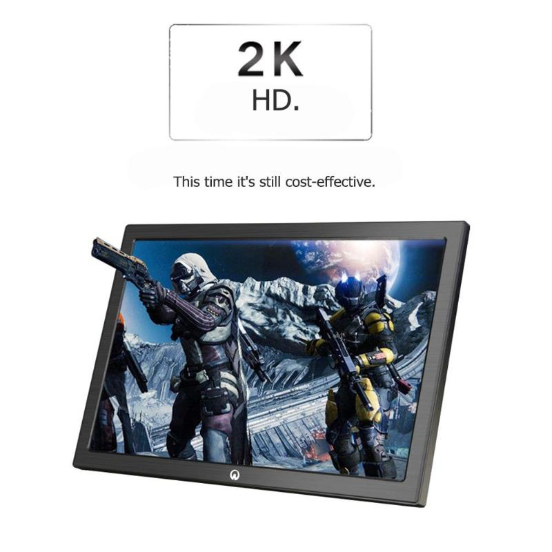10 Inch Mini 2K Portable Monitor HDMI Input 2650 1600 IPS Screen Display for Sony PS4