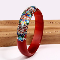 Pulseiras браслет любовь браслет armbanden voor vrouwen Jiashun Tai Cloisonne натуральный Geely халцедон подарок для мамы, чтобы дать