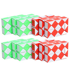 Magic Cube Toys Rectangle PVC Sticker Block Puzzle Speed for Children Educational