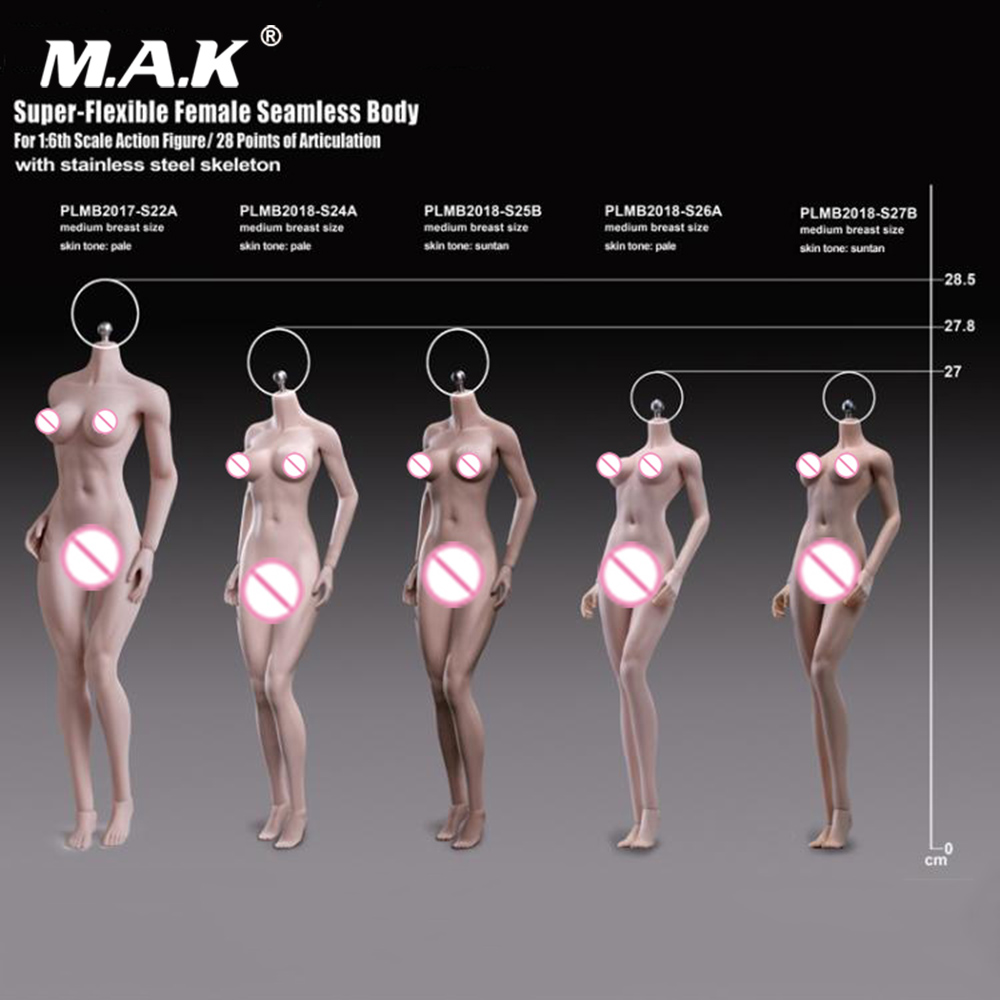 novo tbleague 1 6 s24a s25b s26a s27b super flexivel petite femea sem costura corpos brinquedos
