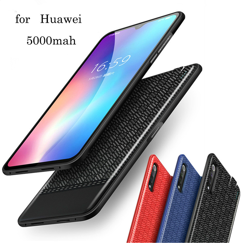 feef3c4a799 Neng 5000mah Backup Thin Power Bank Battery Charger Case For Huawei P Smart  Y9 2018 Nova 2 Lite Honor 7x Frame Charging Cover