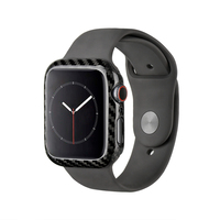 For Apple Watch Series 4 40mm 44mm Protective Case Genuine Carbon Fiber Watch Cover For Apple iWatch Series 4 Frame Housing