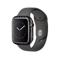 Para apple série relógio 4 40mm 44mm caso protetor genuíno relógio de fibra carbono capa para apple iwatch série 4 quadro habitação