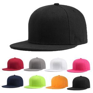2019 Newly Sports Baseball Cap Blank Plain Solid Snapback Golf ball Street Hat Men Women(China)