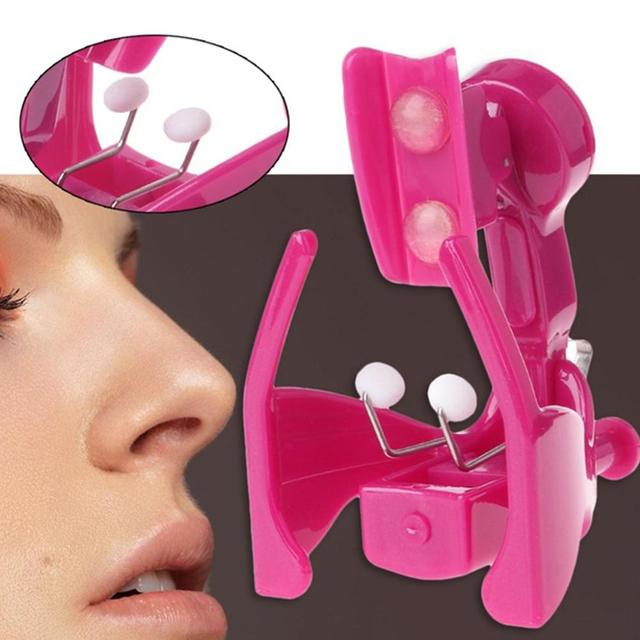 Portable Electric Lifting Nose Up Clip Silicone Shaper for Nose Beauty Nose Shaping Machine  1