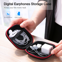 RAXFLY Earphone Case For Apple Airpods Earpods Ear Pads Cable Headphones Storage Hard Bags Casque Accessories