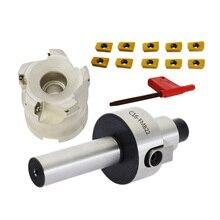 1set C16 FMB22 Shank + BAP300R 50 22 5T Face Milling CNC Cutter + 10pcs APMT1135 Inserts For Power Tool bap300r c16 17 160 indexable face milling cutter tools for apmt1135 carbide inserts suitable for nc cnc machine
