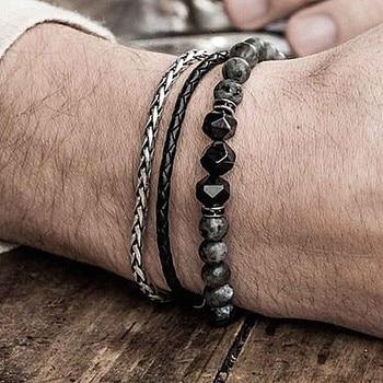 Bracelet Avec Labradorite