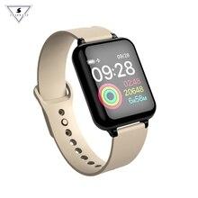 hot deal buy b57 men smart watch ip67 waterproof smartwatch heart rate monitor multiple sport model fitness tracker women wearable devices