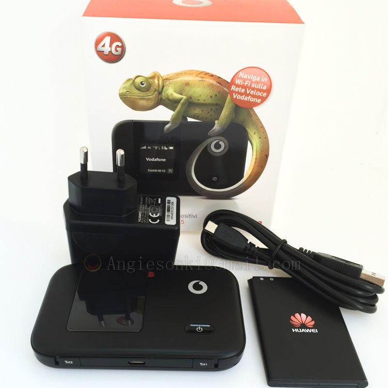 Pour débloqué Huawei E5372 Vodafone R215 4G LTE FDD CAT-4 Modem routeur WIFI 150 Mbps