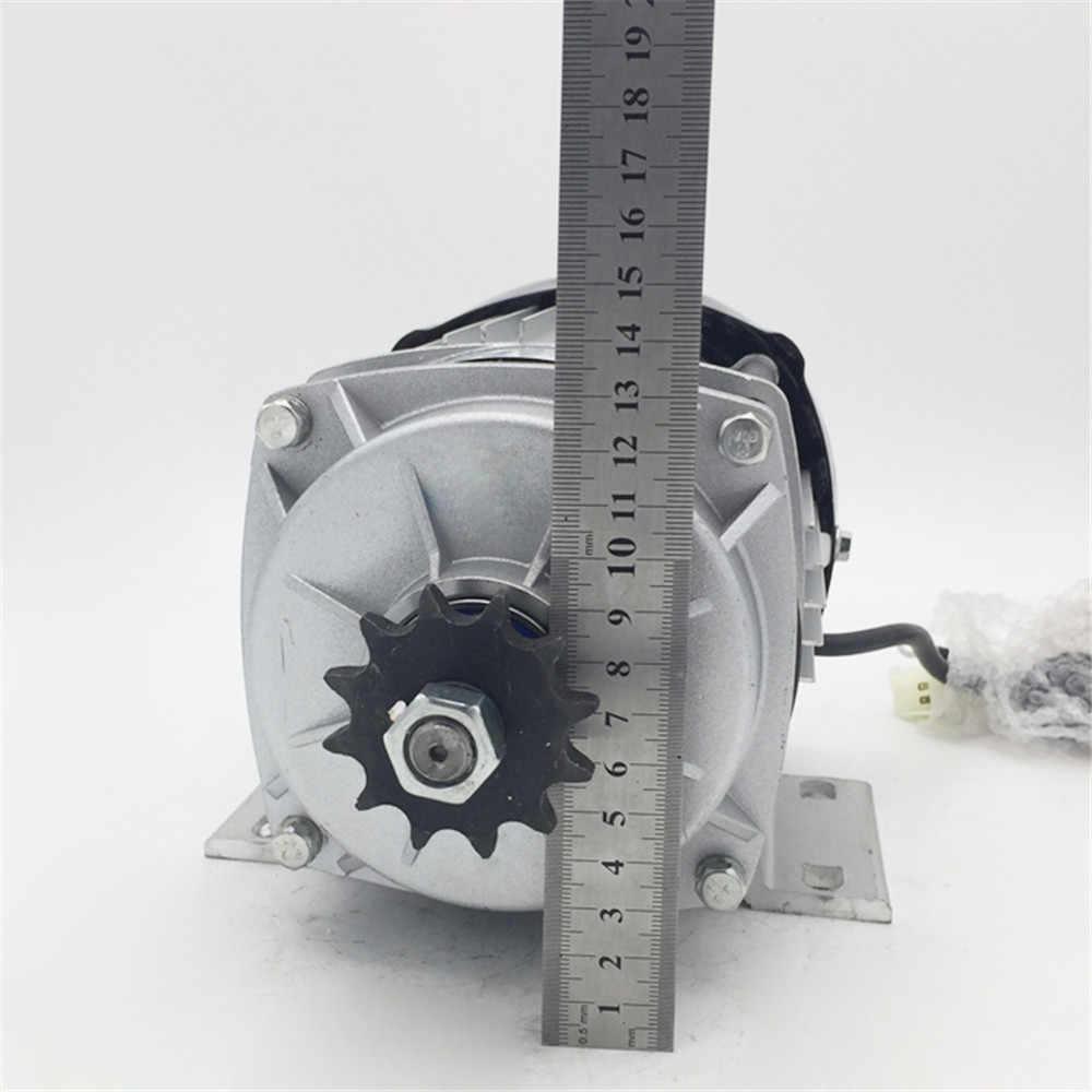 فرش دراجة كهربائية المحرك 350 W 48 V سكوتر فرش E-دراجة ثلاثية العجلات الكهربائية ثلاثة عجلة العربة محرك موتور تيار مباشر