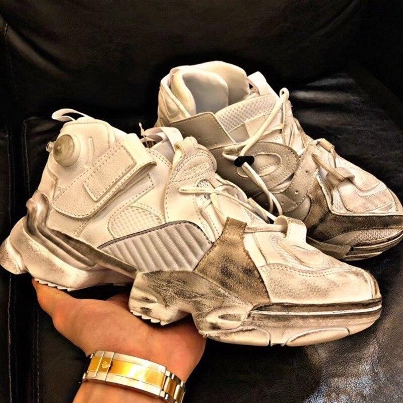 Bout Tennis Top Mode À Chaussures High Marque Rond Designer Sale Compensées Picture As as Picture Femmes Sneakers Lacets De Bleu Spectacle Semelles Blanc Luxe WwxP7aSqHp