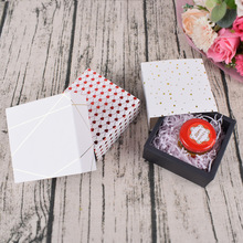 10 Pcs Paper Drawer Box Dots Lips Pattern Small Gift Favor Candy Wedding Party Chocolate Soap Packaging Cardboard