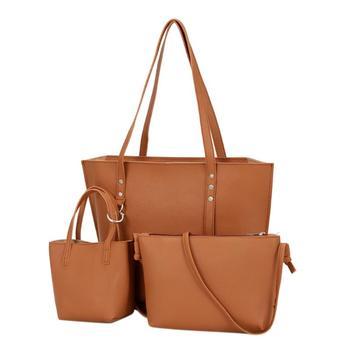 18222f1d5621 компл. для женщин сумка для 2019 Новая мода сумка из искусственной кожи Женский  сумки через плечо Bolsas Feminina Женская сумочка основной