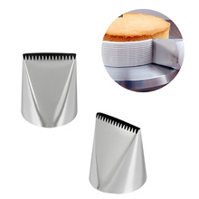 цены Big 55mm Basket Weave Cream Stainless Steel Tips Icing Piping Nozzles Cake Decorating Cupcake Pastry Tools
