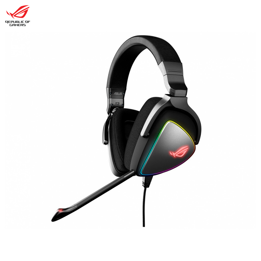Earphones & Headphones ASUS ROG DELTA 90YH00Z1-B2UA00 computer wired headset gaming original xiberia v10 usb gaming headphones vibration led stereo around gaming headset headphone with microphone mic for pc gamer