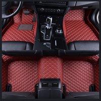 Leather mat car floor mats auto foot Pads automobile carpet cover For BMW 3 Series E90 2005 2006 2007 2008 2009 2010 2011 2013