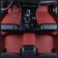 Leather mat car floor mats auto foot Pads automobile carpet cover For BMW 3 Series E90 2005 2006 2007 2008 2009 2010 2011 2013