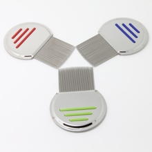 3PCS Combs set Terminator Lice Comb Nit Free Kids Hair Rid Headlice stainless steel Metal Teeth