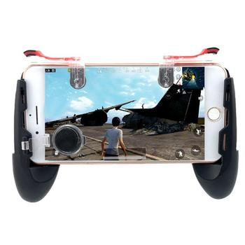 Home Mobile Pair Controller Phone 5 Aiming 1 Game Outdoor 6 Shoot Button etc Fire 5inch Casual Unisex Triggers 4 usb battery bank charger
