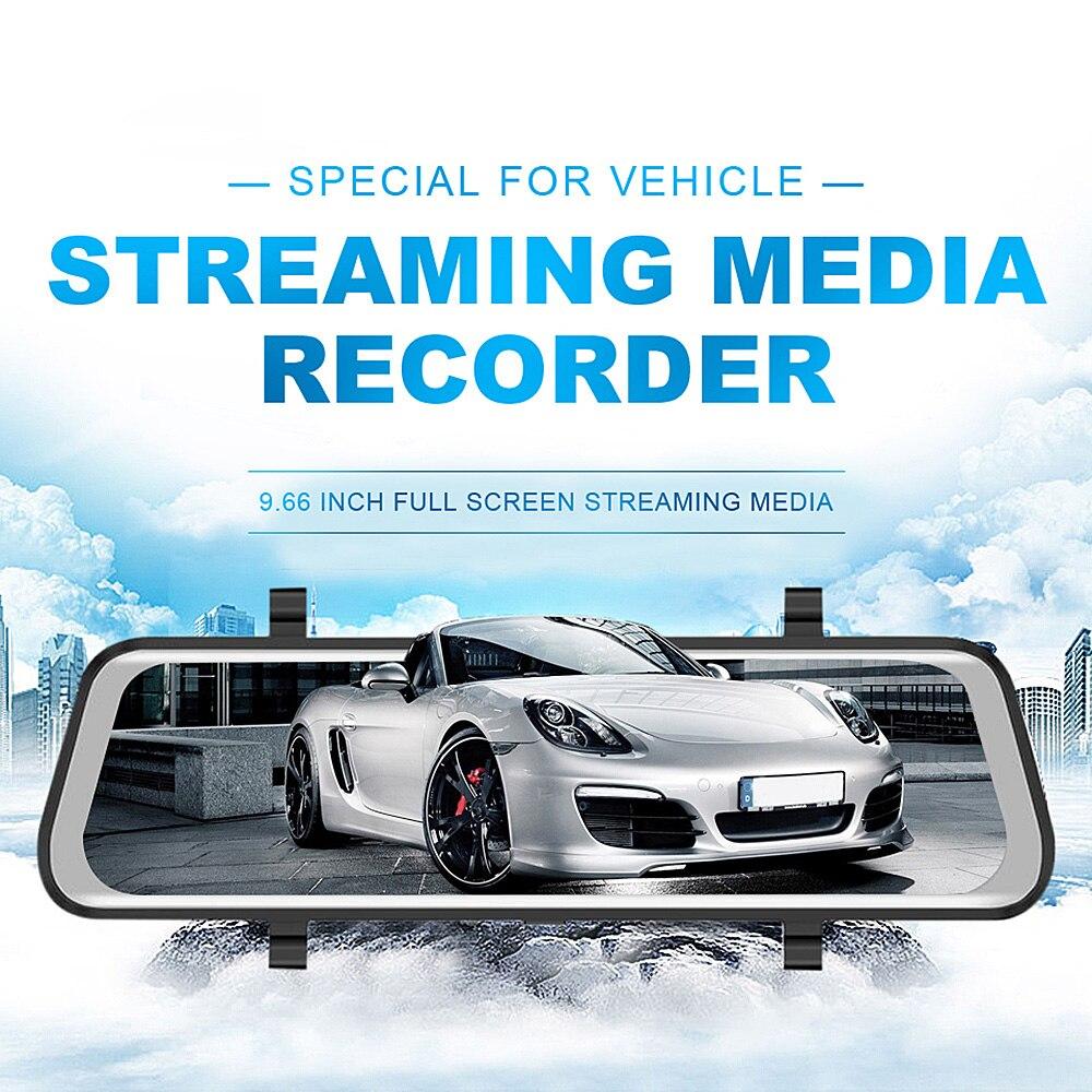 Auto Dvr Auto Kamera Dashcam Spiegel Monitor Mit Doppel Recorder Nachtsicht Kamera Für Volkswagen/tesla Modell 3/ Ford/audi/bmw