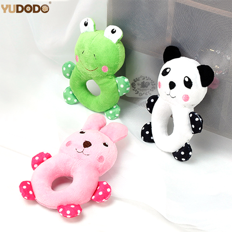 Cartoon Panda Frog Rabbit Dog Toys Soft Plush Pet Chew Toy For Small Dog Teddy Chihuahua Puppy Cat Interactive Toys