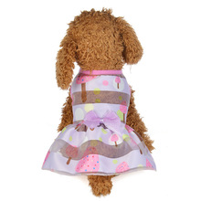 Pet clothes spring and summer princess dress fairy skirt dog pet clothing supplies wholesale