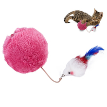 Plush Electric Ball Toy Cat Toys Creative Funny Pet Play For Kitten Chasing Interaction Supplies