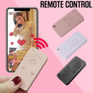 Image 5 - ポータブルリモコンワイヤレス Bluetooth セルフタイマービデオページめくりシャッター多機能ミニデバイス用電話