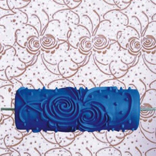 1 Pc 5-zoll Diy Wand Dekoration Werkzeug Farbe Rollen Für Wände Dekorative Malerei Roller Werkzeuge Empaistic Malerei Roller (blau) Spezieller Sommer Sale