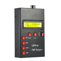 SARK100 1 60MHz HF ANT SWR Antenna Analyzer Meter Standing Wave Tester for Ham Radio Hobbyists Impedance Capacitance Measurement