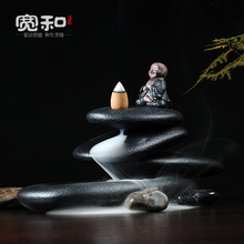 Wide back censer heap back inspired by the Tibetan Mani piles of creative ceramic incense aroma oil burner wide back censer heap back inspired by the tibetan mani piles of creative ceramic incense aroma oil burner
