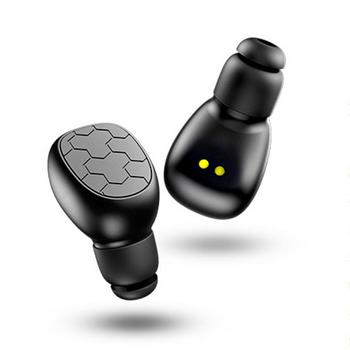 Wireless Binaural Bluetooth Earphones In-Ear Stereo Portable Earphones With Mic Automatic Connection Earbuds With Charging Box