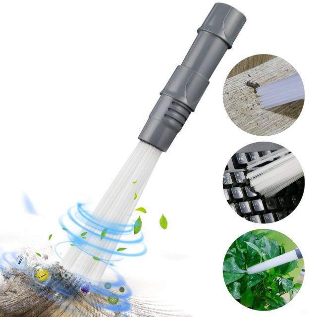 Пыли наконечник пылесос аксессуары пылесос для очистки небольших Nook как отверстия для воздуха, клавиатуры, ящик, автомобилей, ювелирных изделий