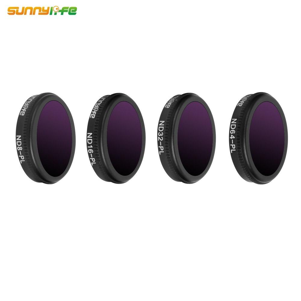 Sunnylife DJI MAVIC 2 ZOOM Drone ND8 PL ND16 PL ND32 PL ND64 PL Lens Filter