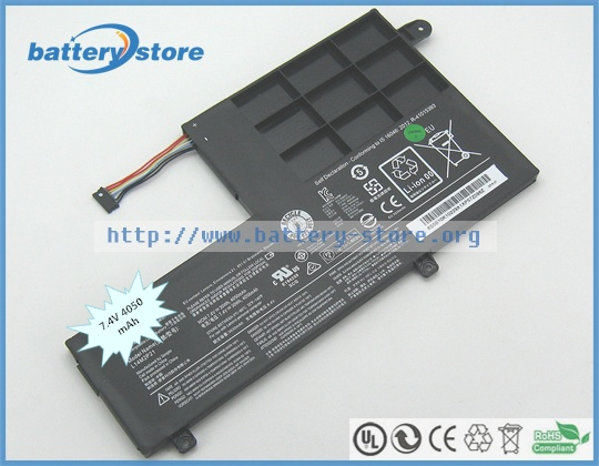 Free ship 30W Genuine battery L14M2P21 for Lenovo IdeaPad S41 35 , IdeaPad S41 75 , Yoga 500 151BD , ideapad 500S 14ISK Laptop Batteries  - AliExpress