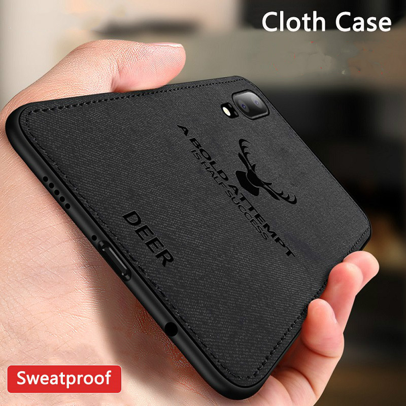 Shockproof Deer Cloth Cases For Xiaomi Mi 9 8 A2 Lite A1 6X 5X Pocophone F1 Redmi Note 7 Note 6 5 pro S2 6A 5plus 4X Cover Coque(China)