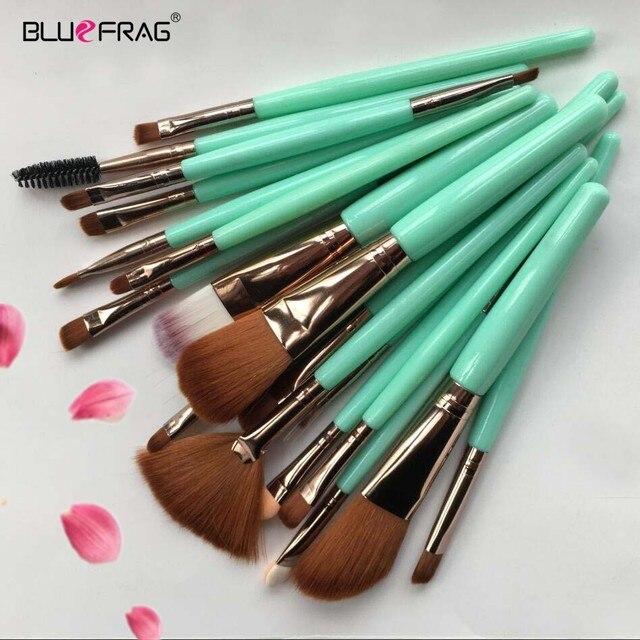 Pro Makeup Brushes Full Set 6/15/18Pcs Cosmetic Powder Eye Shadow Foundation Blush Blending Make Up Brush Maquiagem Beauty Tool 1