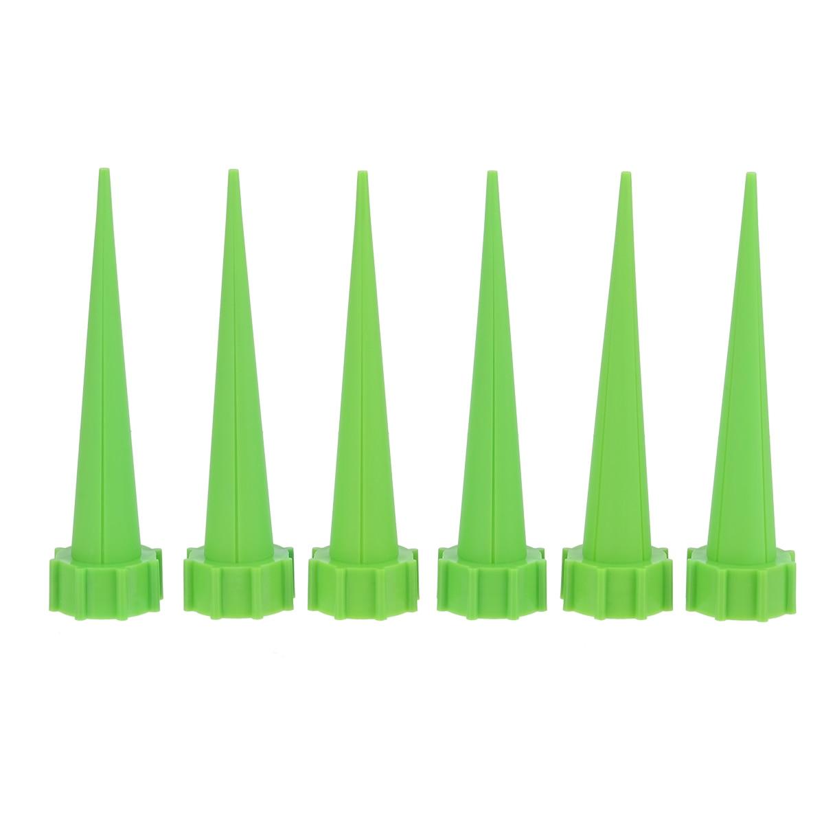 12 Pcs Irrigazione Automatica Irrigazione Spike Pianta Fiore Cono Di Plastica A Goccia Sprinkler Per Il Giardino Bottiglia Di Acqua Sistema Di Irrigazione I Consumatori Prima