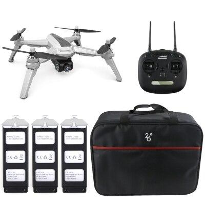 JJRC JJPRO X5 5G WiFi FPV RC Drone GPS Maintien D'altitude 1080 P Caméra Point de Intéressant Suivre Brushless moteur 2 Batteries