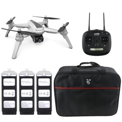 JJRC JJPRO X5 5g WiFi FPV RC Drone GPS il Mantenimento di Quota 1080 p Della Macchina Fotografica Point di Interessante Seguire Brushless motore 2 Batterie
