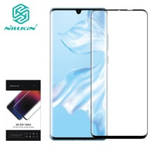 NILLKIN 3D DS+MAX Protective Screen Protector For Huawei P30 Pro 9D Edge Safety Tempered Glass 6.2 inch