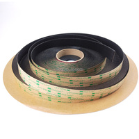 25.4mm x 45.7meter 3M SJ4575 dual lock indoor self adhesive two sided tape with Low Profile Reclosable Fastener black