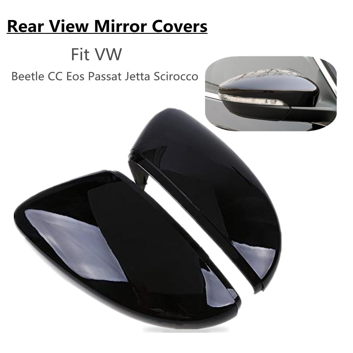 NEW RIGHT DRIVERS SIDE DOOR WING MIRROR COVER CAP METALLIC REFLEX SILVER