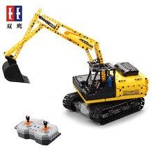 Cada Double E Wheel Loader Bulldozer Excavator Remote Control Car Building Blocks Bricks Technic Series C51057W Toys 544pcs