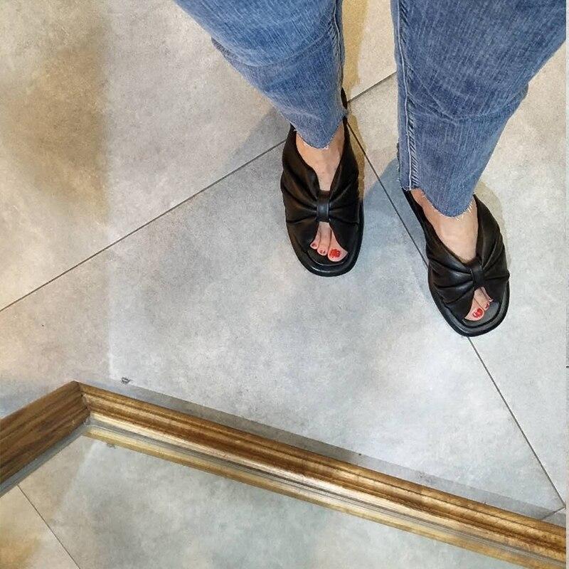 Sandalias Noeud 2018 Papillon Décontracté Pour Chaussures L'extérieur Femme Dames Diapositives As Show Mujer Été À Femmes Appartements as Chaussons Show Sandales Bowtie Tendance AqqdOw4f